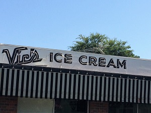 Vic's Ice Cream - Sacramento Walking Sticks