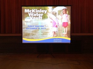 Picture of McKinley Water Vault screen