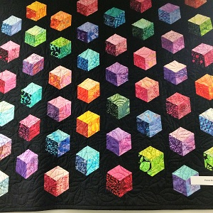 Picture of quilt available at Sutter Cancer Center Quilt Auction