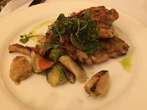 Picture of Biba chicken dish