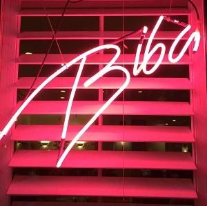 Picture of Biba Restaurant Signage