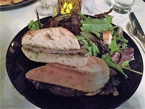 Picture of Ten Ten Room Garlic Steak Sandwich