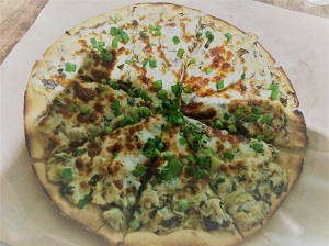 Picture of Selland's Market-Cafe Spinach & Artichoke Pizza