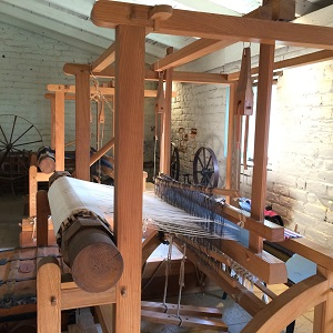 Picture of Sutter's Fort Weaving Room looms