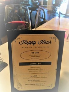 Picture of Ten Ten Room Happy Hour Menu