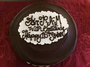 Picture of Sacramento Women's Action Network Vegan Chocolate Cake