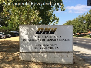 Photo of DMV Field Office Signage