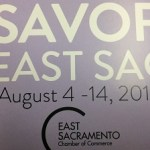 Photo of Savor East Sac 2018 Flyer