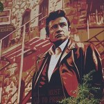 Photo of Shepard Fairey 2018 Best Music On Walls Mural of Johnny Cash