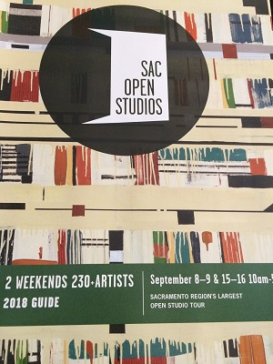 Photo of Sac Open Studios 2018 Guide Cover