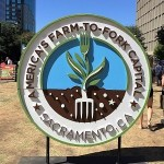 Photo of Sacramento Farm-to-Fork Capital Sign