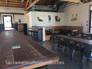 Photo of SacYard Community Tap House Interior
