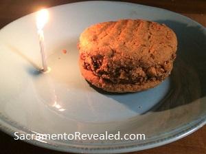 Photo of Empress Tavern Peanut Butter Chocolate Ice Cream Sandwich