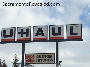 Photo of U-Haul Sign