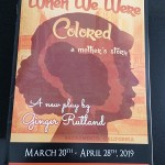 Photo of When We Were Colored Program