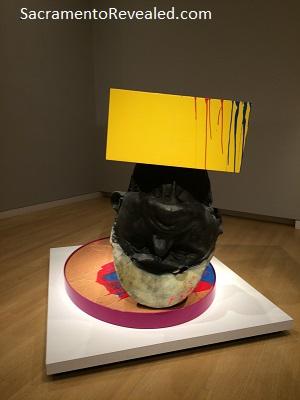Photo of Richard Jackson art