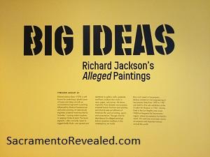 Photo of Richard Jackson Signage
