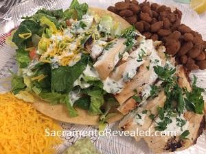 Photo of Casa Garden Tequila Lime Chicken Tostada Salad