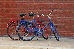 Photo of two bicycles