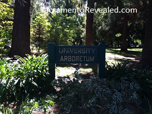 photo of University Arboretum Sign