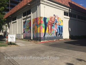 Photo of Wide Open Walls 2019 mural by Stephanie Taylor