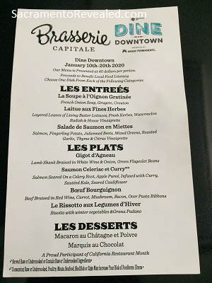 Photo of Brasserie Capitale Menu