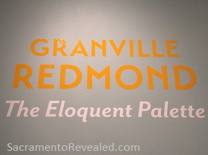 Photo of Granville Redmond Signage