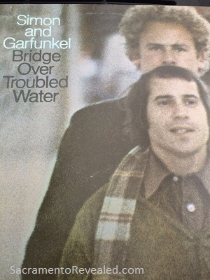 Photo of Simon & Garfunkel album cover