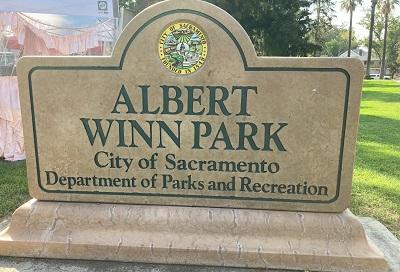 Photo of Winn Park Signage