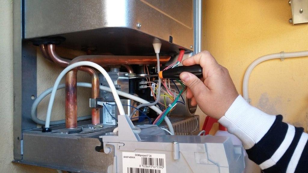 boiler type water heating system