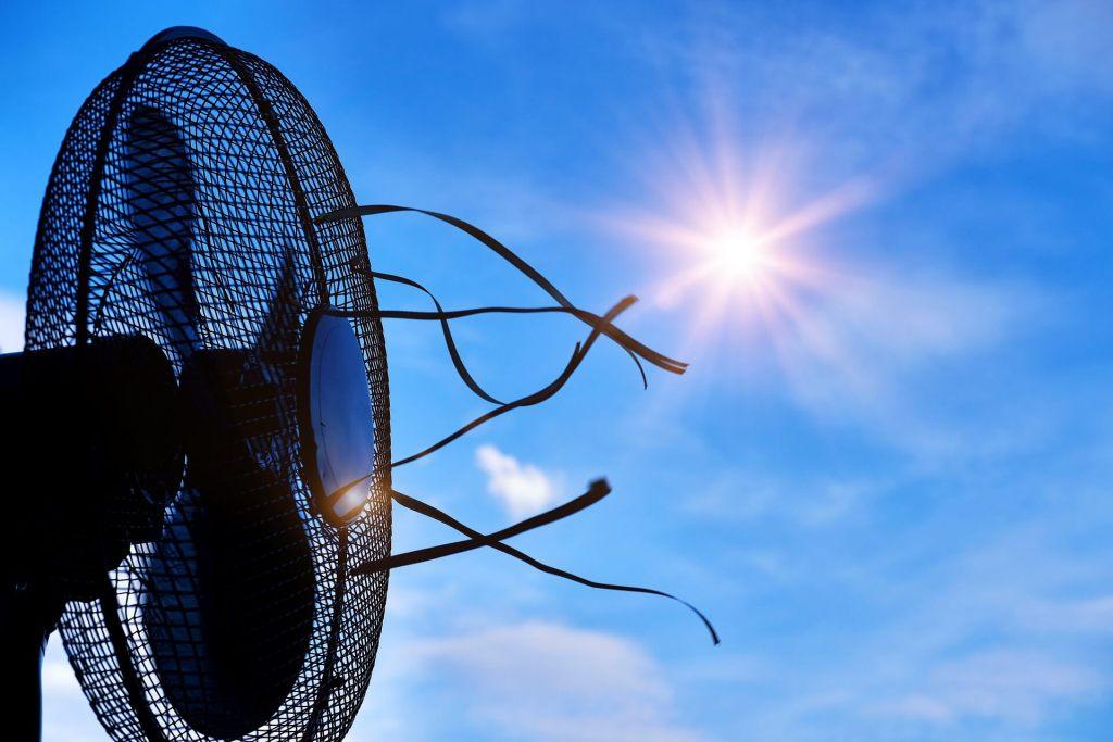 solar air heating system
