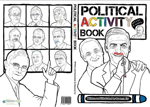 Political Activity Book Rowena Fry