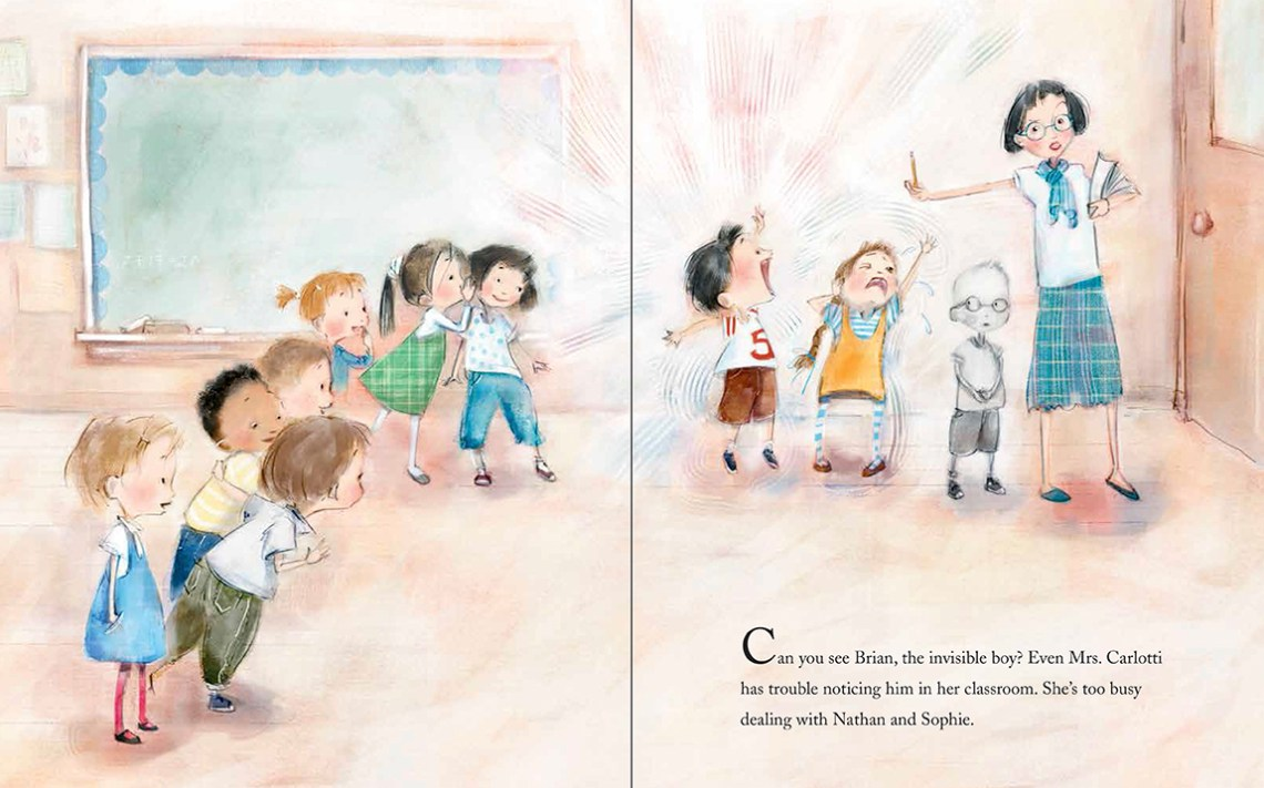 The Invisible Boy   Books for kids who want to change the world   Sacraparental.com