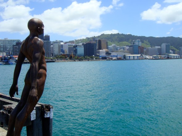 Solace in the Wind, 2007, Max Patte, Wellington waterfront