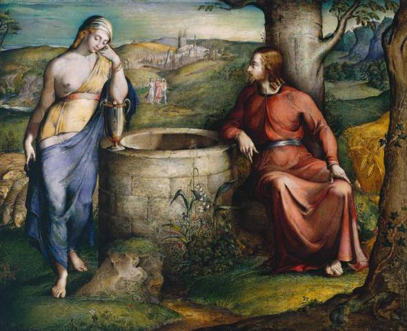 Lent with kids, Christ and the woman of Samaria, Samaritan woman, woman at the well, breaking down social barriers, Christian parenting blogs, Lent blogs, New Zealand parenting blogs