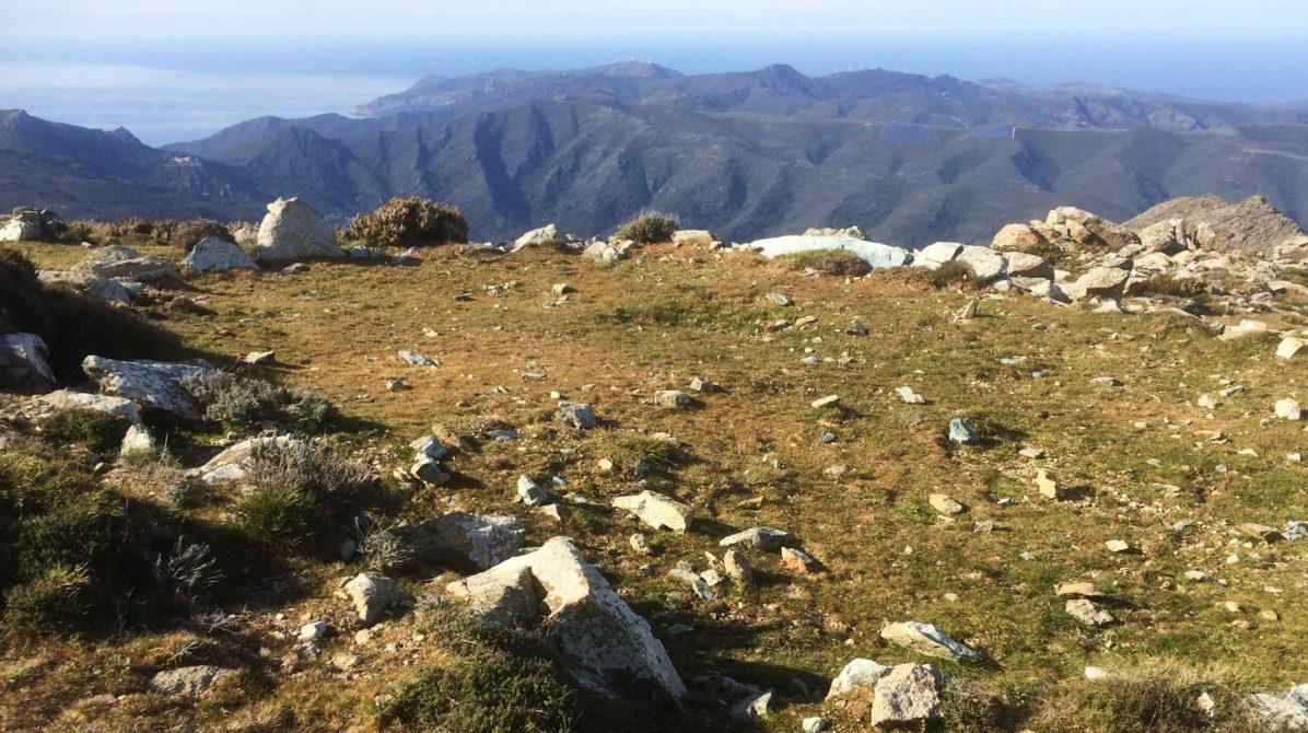 Sacré Cap Corse - Aire au col de Sellole