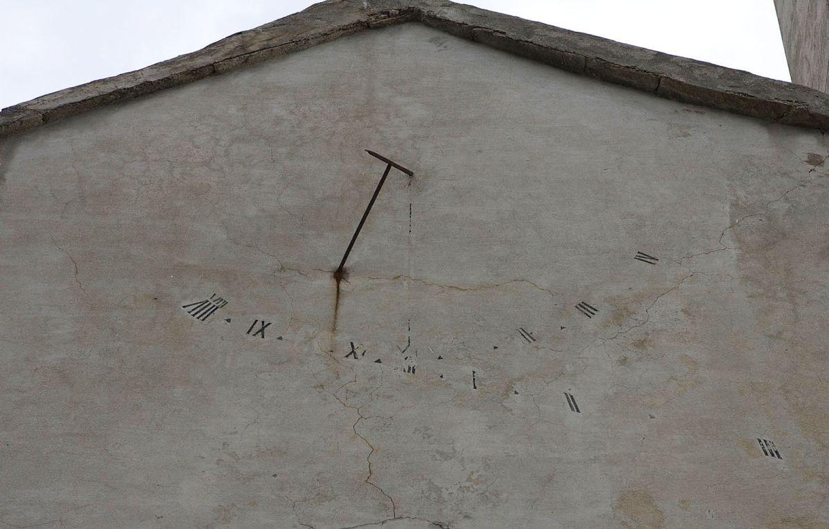 Sacré Cap Corse - Cadran solaire à Brando
