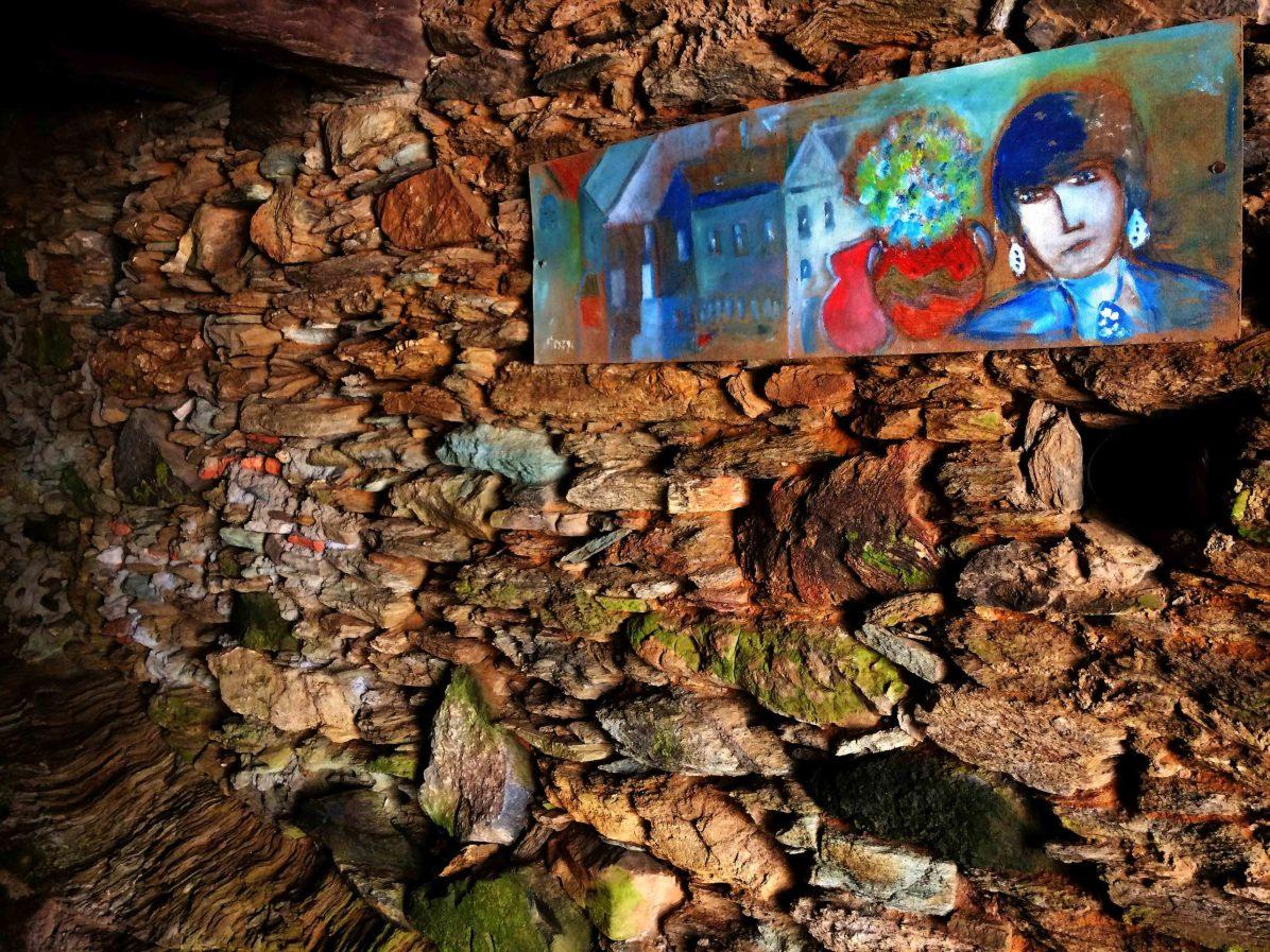Sacré Cap Corse - Peinture sur bois et sous voûte de Gabriel Lipszyc
