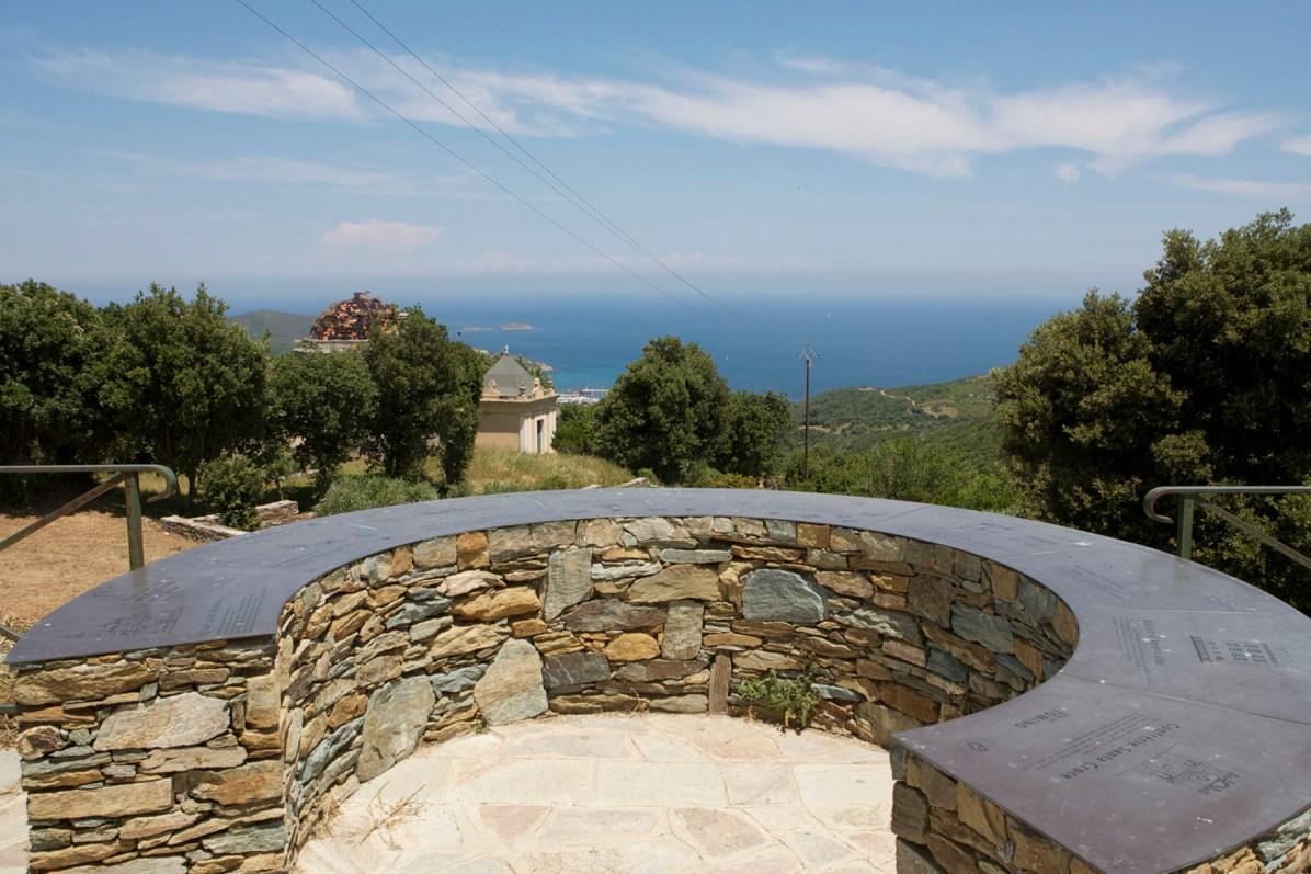Sacré Cap Corse - Table d'orientation de Tomino