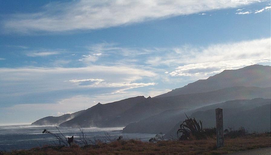Libeccio sur le versant occidental du Cap Corse