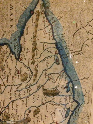 1596-Carte de Matthias Quad à Cologne
