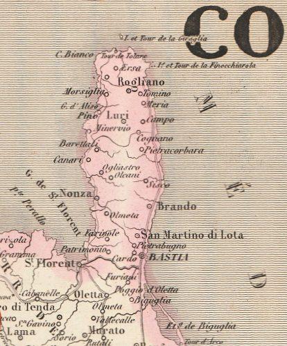 1848-Carte du Nouvel Atlas illustré de Vuillemin