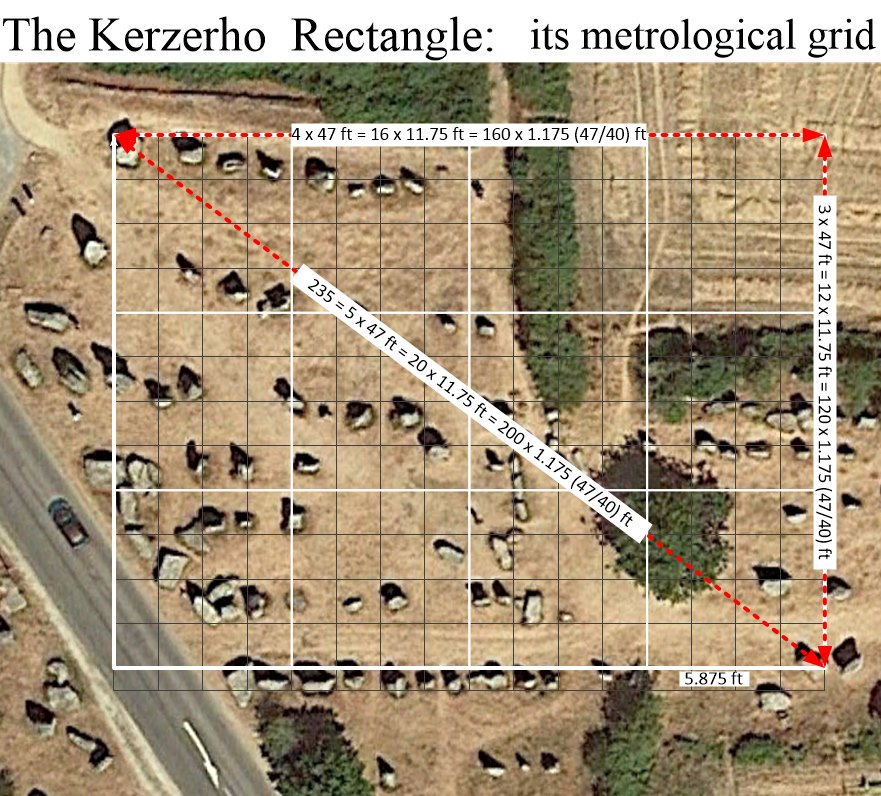Kerherzo Rectangle near Erdeven & Crucuno