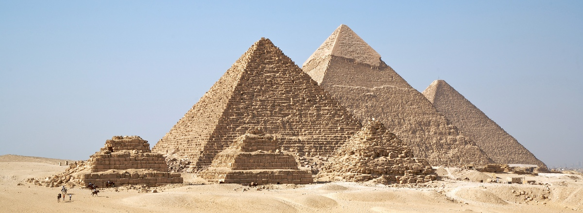 Units within the Great Pyramid of Giza