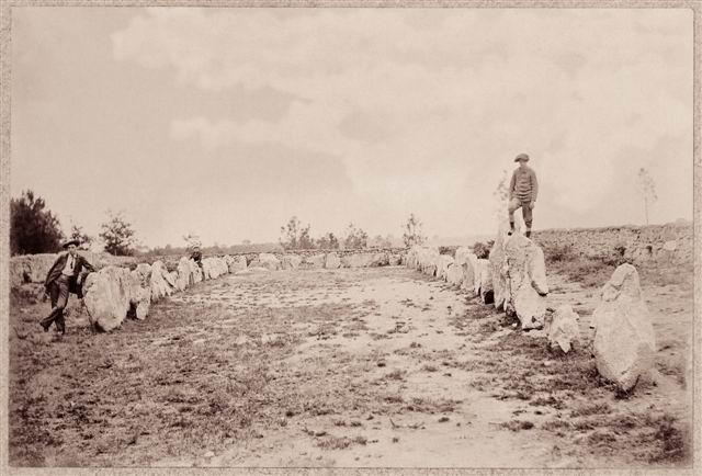 Le Site Mégalithique du Manio à Carnac