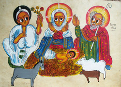 Pictures In Focus Three Parchment Paintings From Ethiopia
