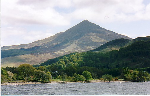 "Schiehallion (""The fairy hill of the Caledonians"")"