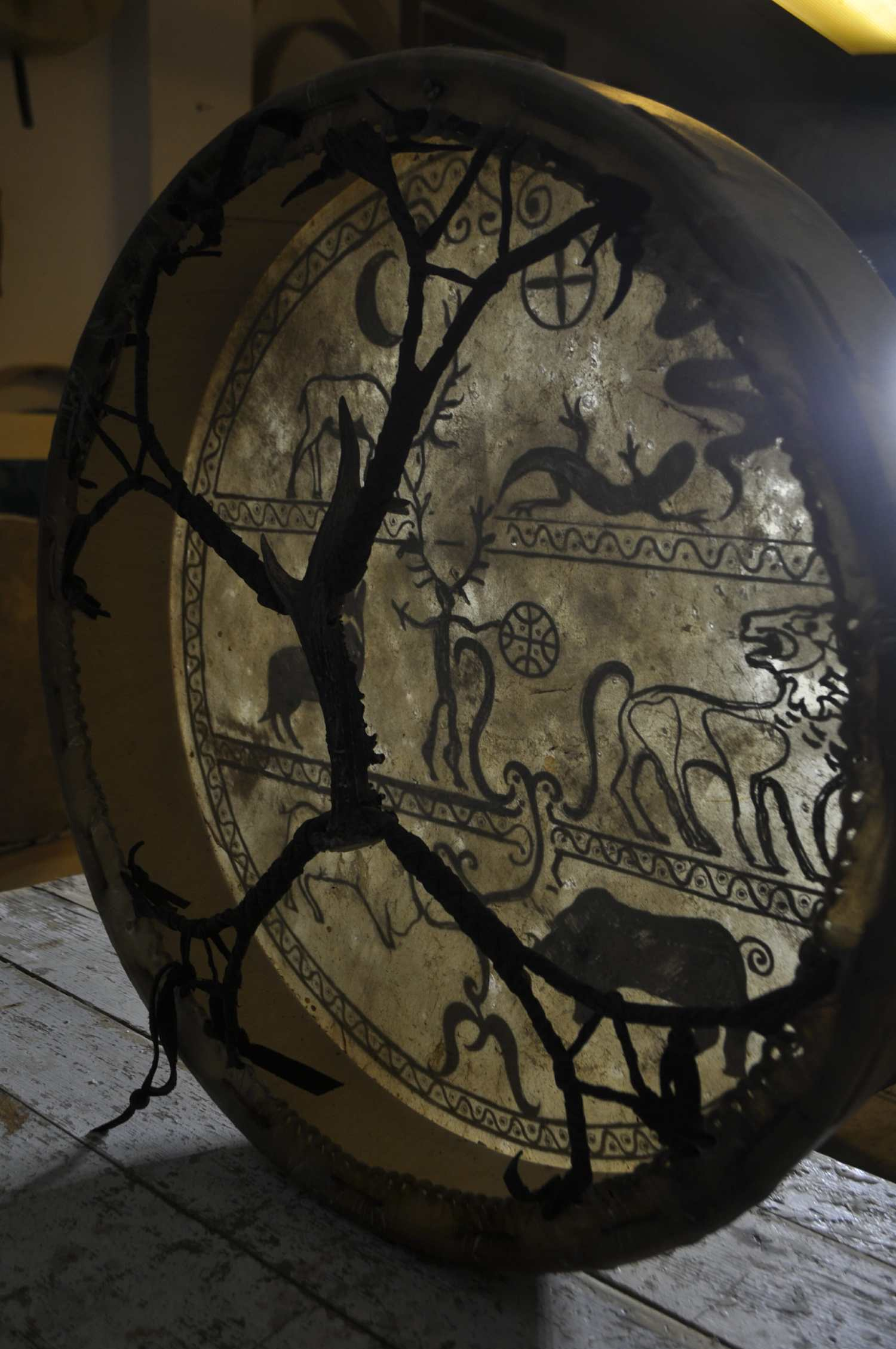 Custom Shaman Drum