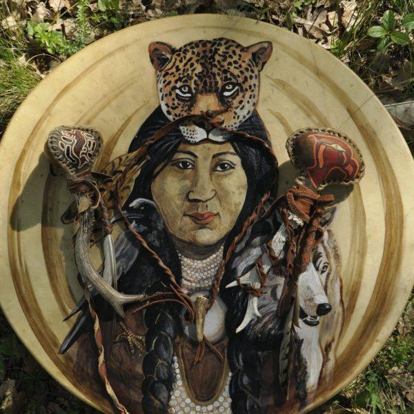 native shaman drum