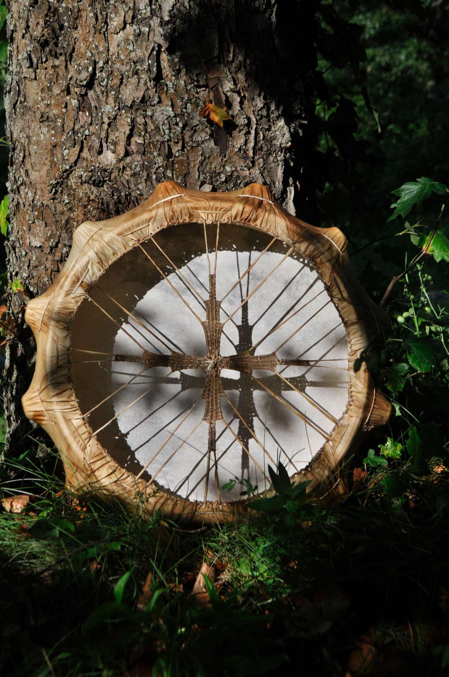 traditional shaman drum